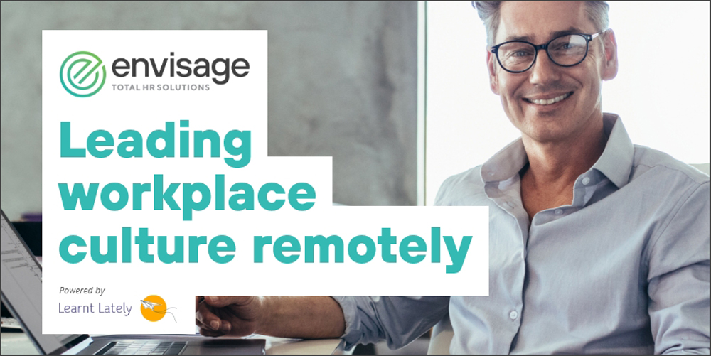 Leading Workplace Culture Remotely Course Image